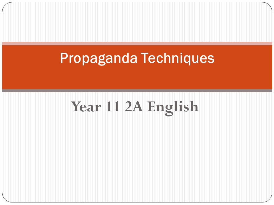 Testimonials: Testimonials are another of the seven main forms of propaganda identified by the Institute for Propaganda Analysis.