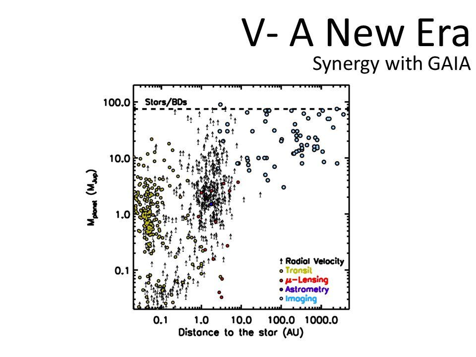 V- A New Era Synergy with GAIA