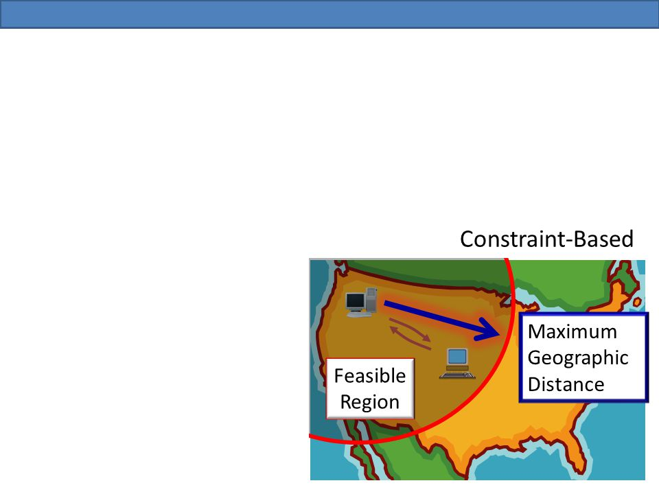 Feasible Region Constraint-Based Maximum Geographic Distance