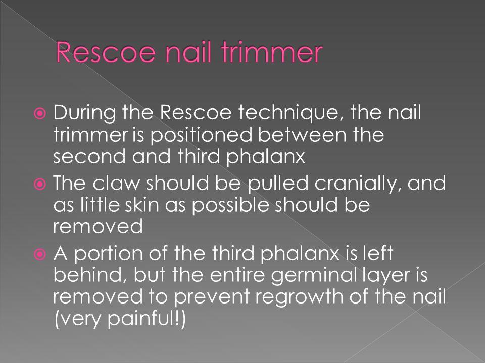 The scalpel technique uses a no.