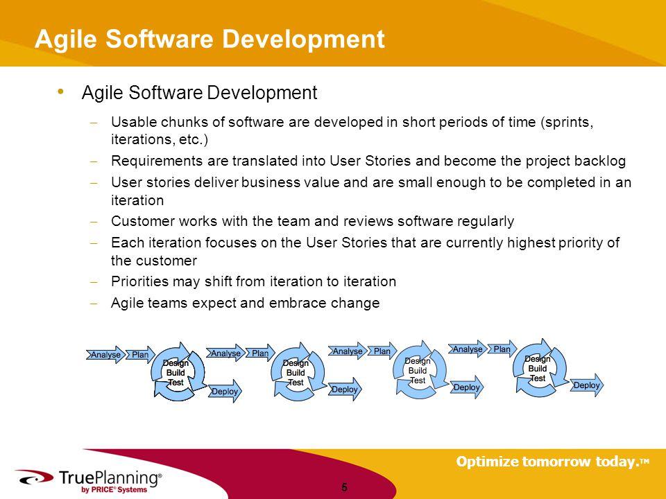 Optimize tomorrow today. TM Integration, Multiple Site Development 26