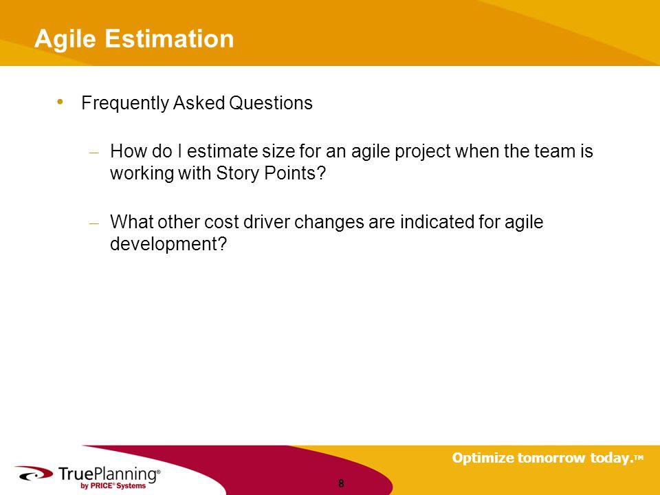 Optimize tomorrow today. TM Questions 19 Arlene.minkiewicz@pricesystems.com