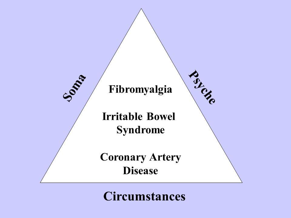 Fibromyalgia Irritable Bowel Syndrome Coronary Artery Disease Soma Psyche Circumstances