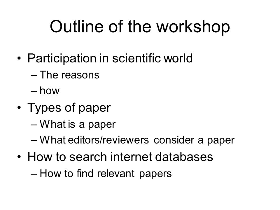 Submitting a scientific contribution the process Follow Academic Publishing Steps (I) 1.