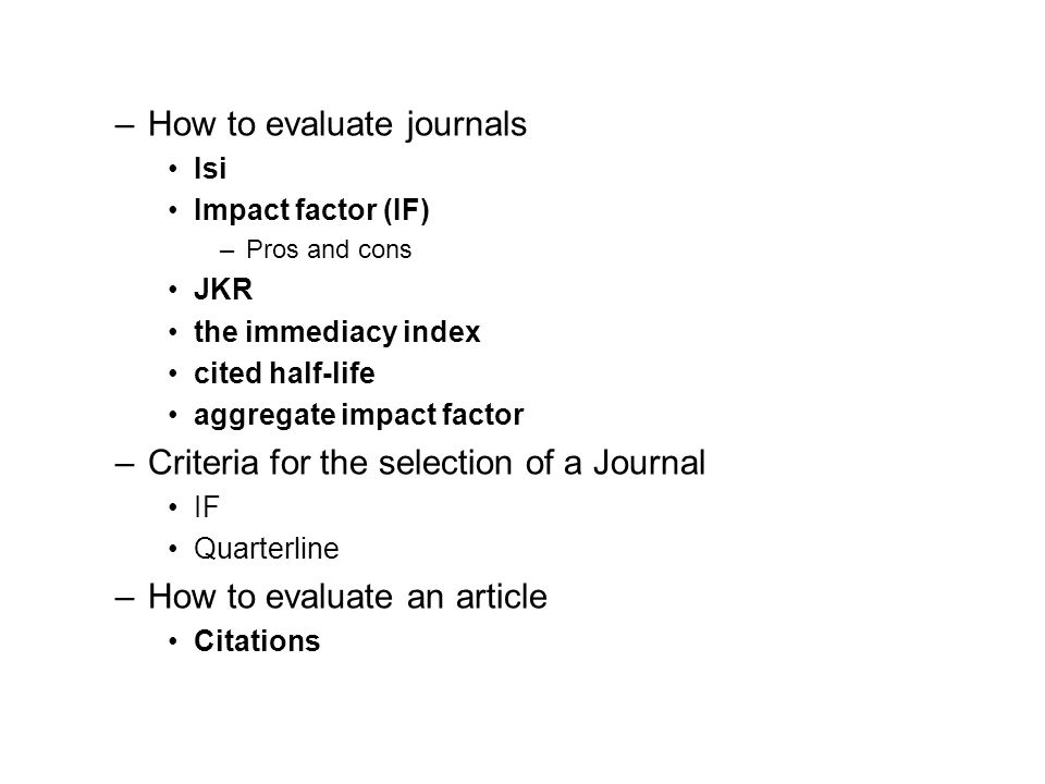 Outline of the workshop Participation in scientific world –The reasons –how Types of paper –What is a paper –What editors/reviewers consider a paper H