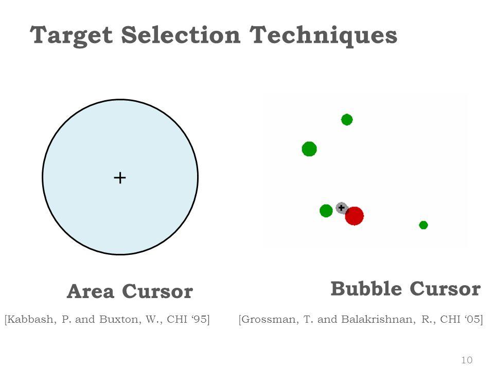 Area Cursor [Kabbash, P.