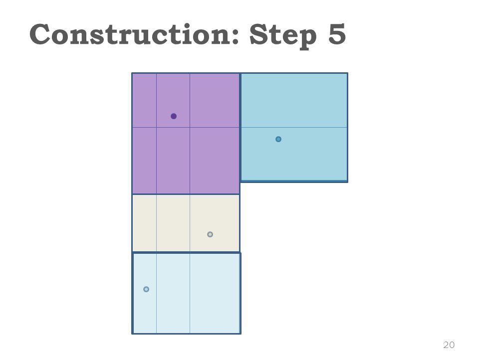 Construction: Step 5 20