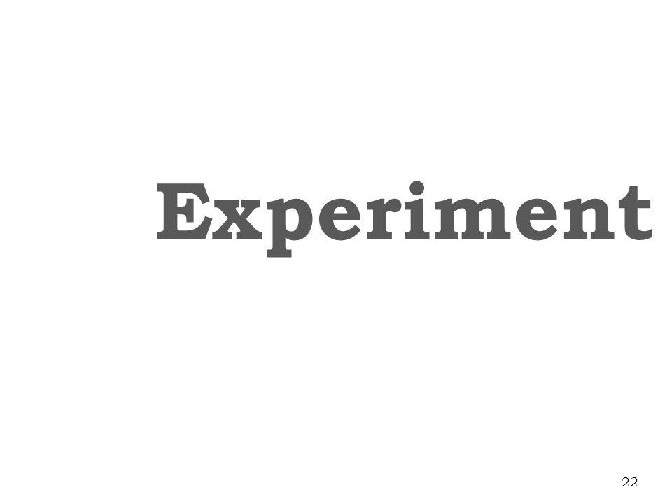 Experiment 22