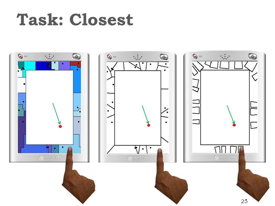 Task: Closest 25