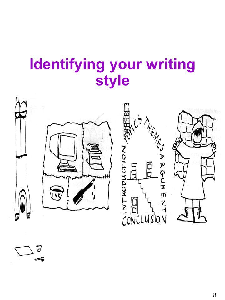 8 Identifying your writing style