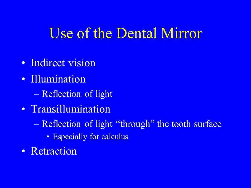 Type of Stroke Used Oblique on buccal & lingual Vertical on Mesial & Distal