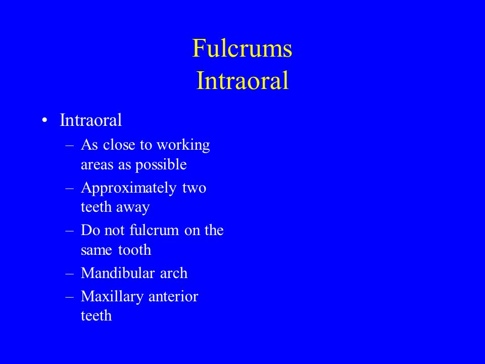 Extra-Oral Fulcrum Extraoral –Maxillary arch Posterior teeth