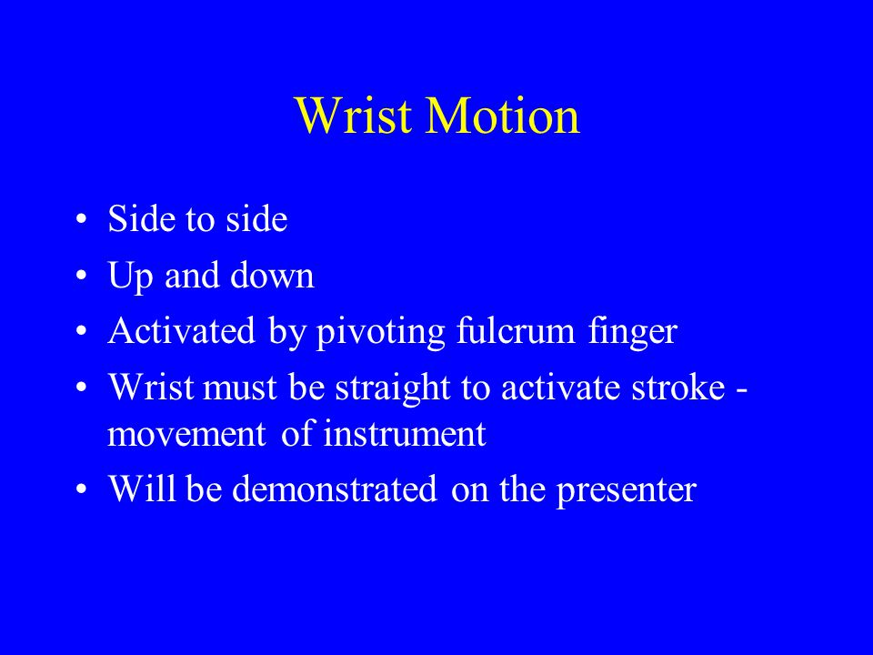 Most common areas missed: most apical portion of pocket furcation areas & distal surfaces primary reason: not overlapping strokes