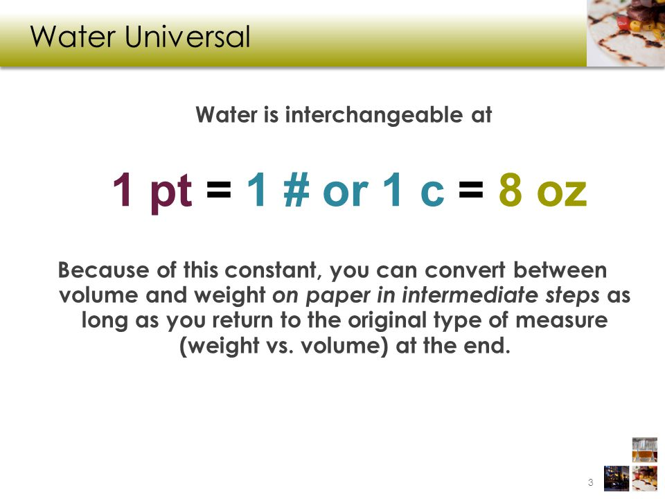 Example 3j (cont.) The formula only works if the units for new and old yield match.