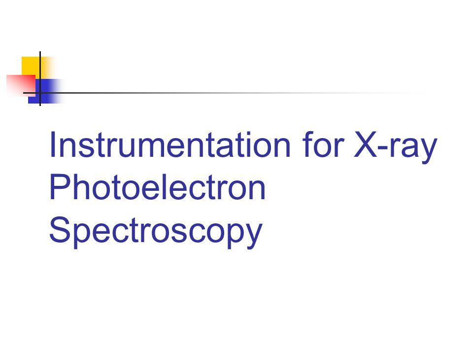 Instrumentation for X-ray Photoelectron Spectroscopy