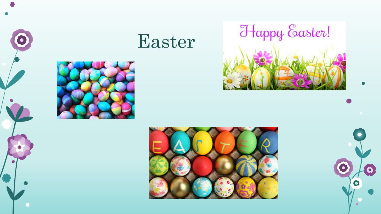 Easter is one of the most important celebrations of Christianity, commemorating the moment when Jesus came back from the dead.