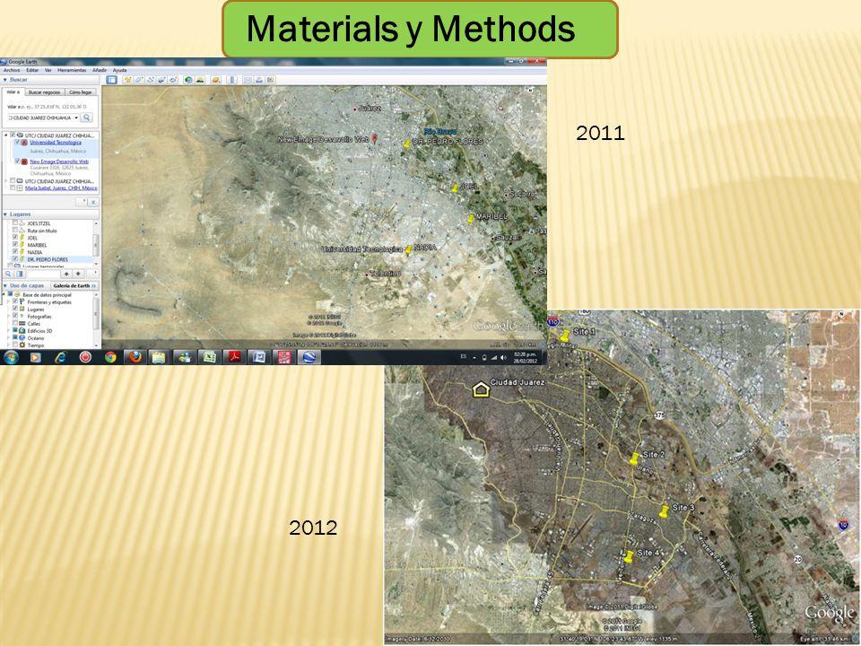 Materials y Methods 2011 2012