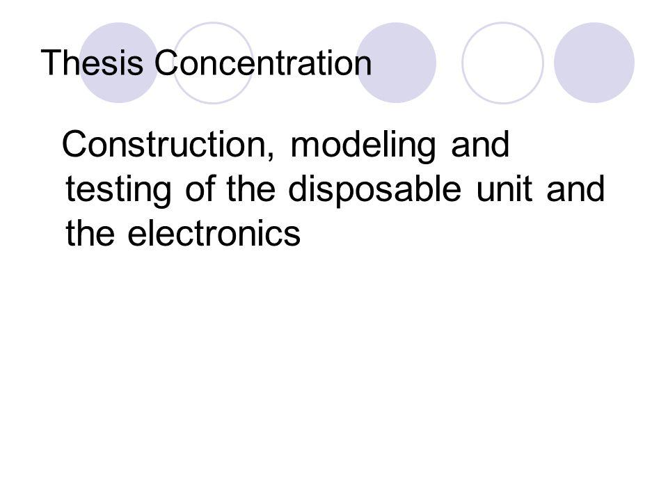 Images of Disposable unit (1 st design)