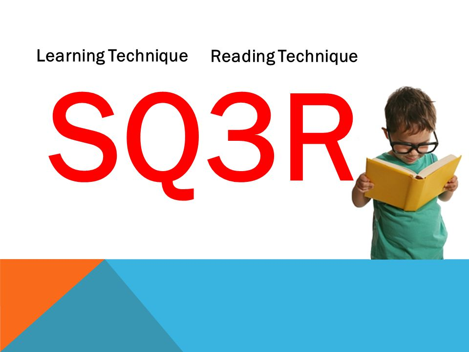 SQ3R Learning Technique Reading Technique
