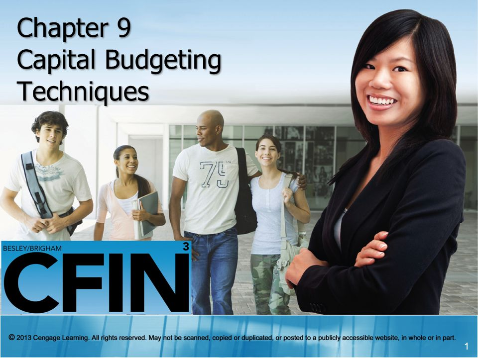Learning Outcomes Chapter 9 Describe the importance of capital budgeting decisions and the general process that is followed when making investment (capital budgeting) decisions.