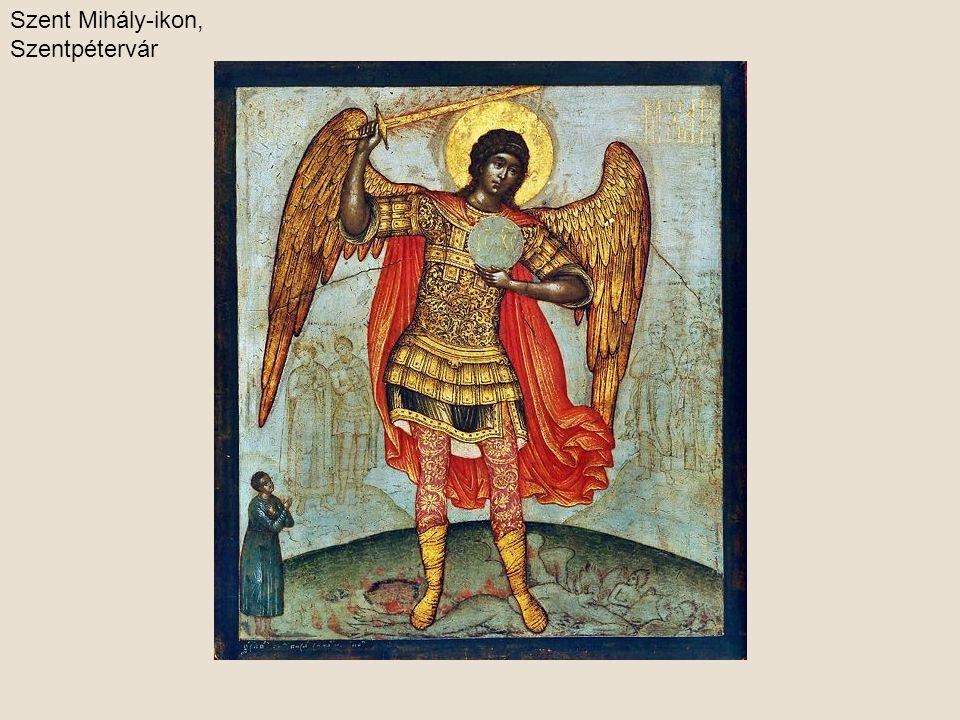 Gábor arkangyal a budapesti Millenniumi emlékművön