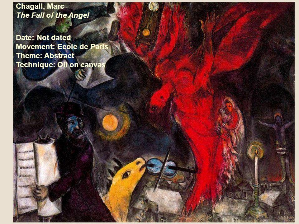 Chagall, Marc The Vision Date: 1924-5/circa 1937 Movement: Ecole de Paris Theme: Allegory Technique: Mixed technique