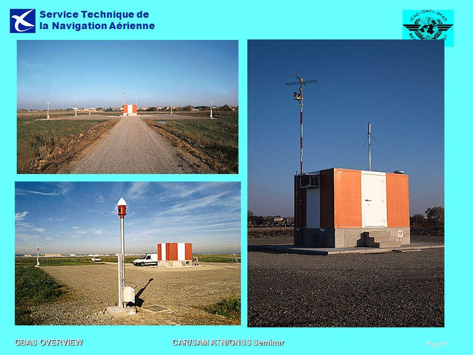 Page 9 GBAS OVERVIEW CAR/SAM ATN/GNSS Seminar Service Technique de la Navigation Aérienne