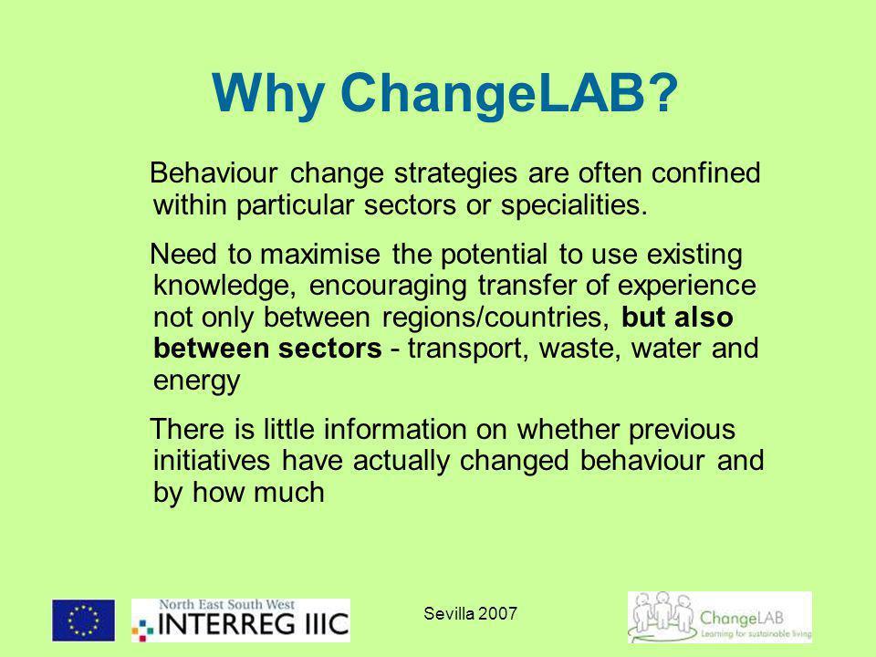 Sevilla 2007 Why ChangeLAB.