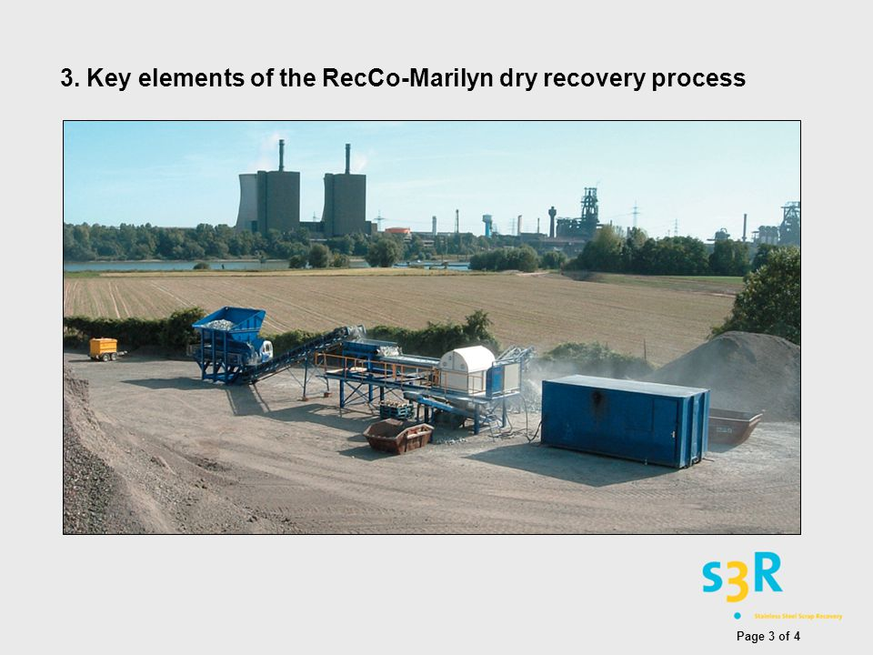 3. Key elements of the RecCo-Marilyn dry recovery process Page 3 of 4