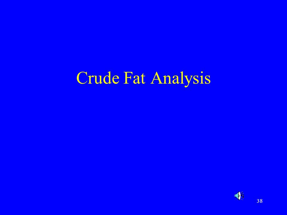 39 Fats Fats refers to lipids, fats and oils.