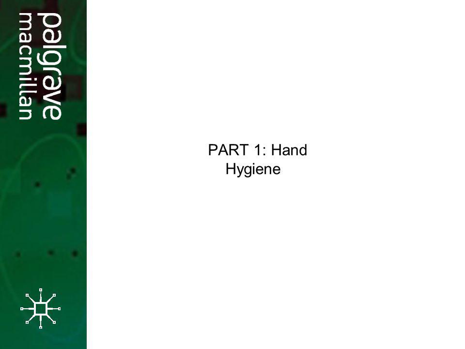 PART 1: Hand Hygiene