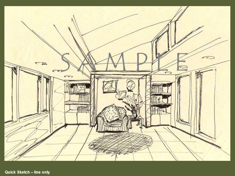 Quick Sketch – line only S A M P L E