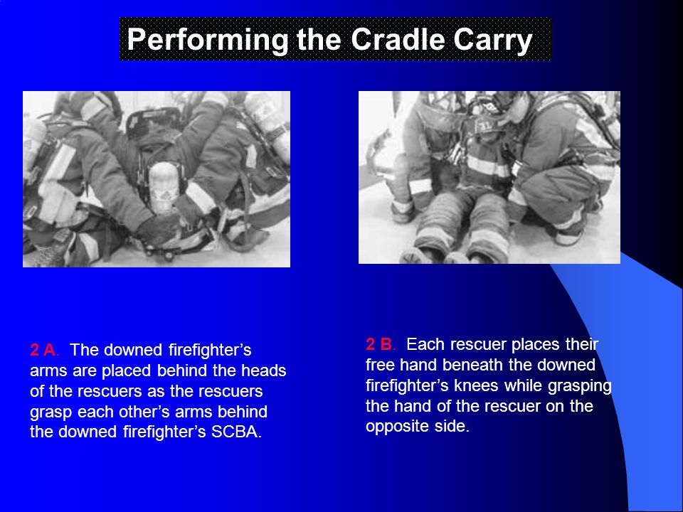 Performing the Cradle Carry 2 A.