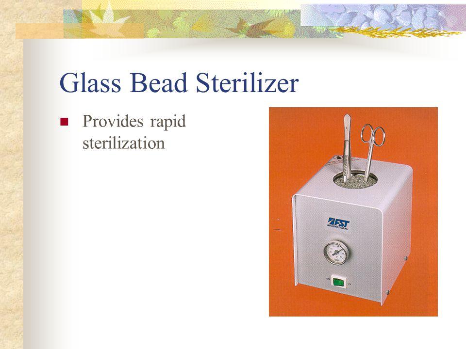 Indications of Sterilization