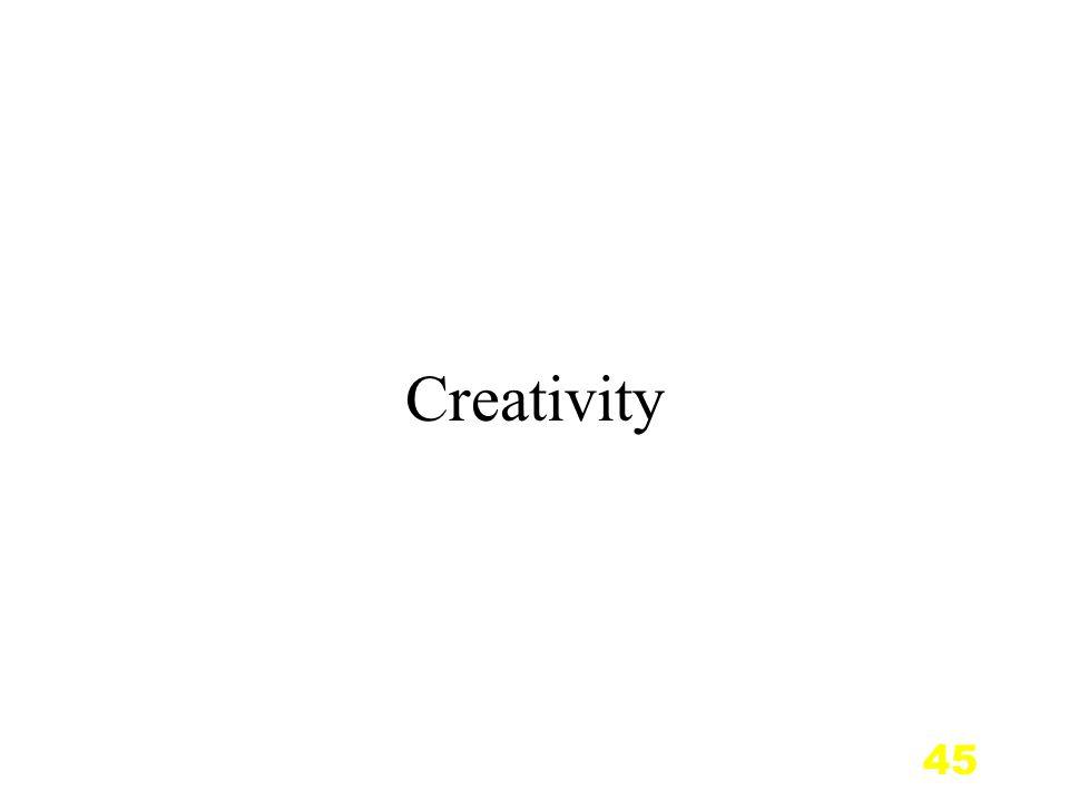 45 Creativity
