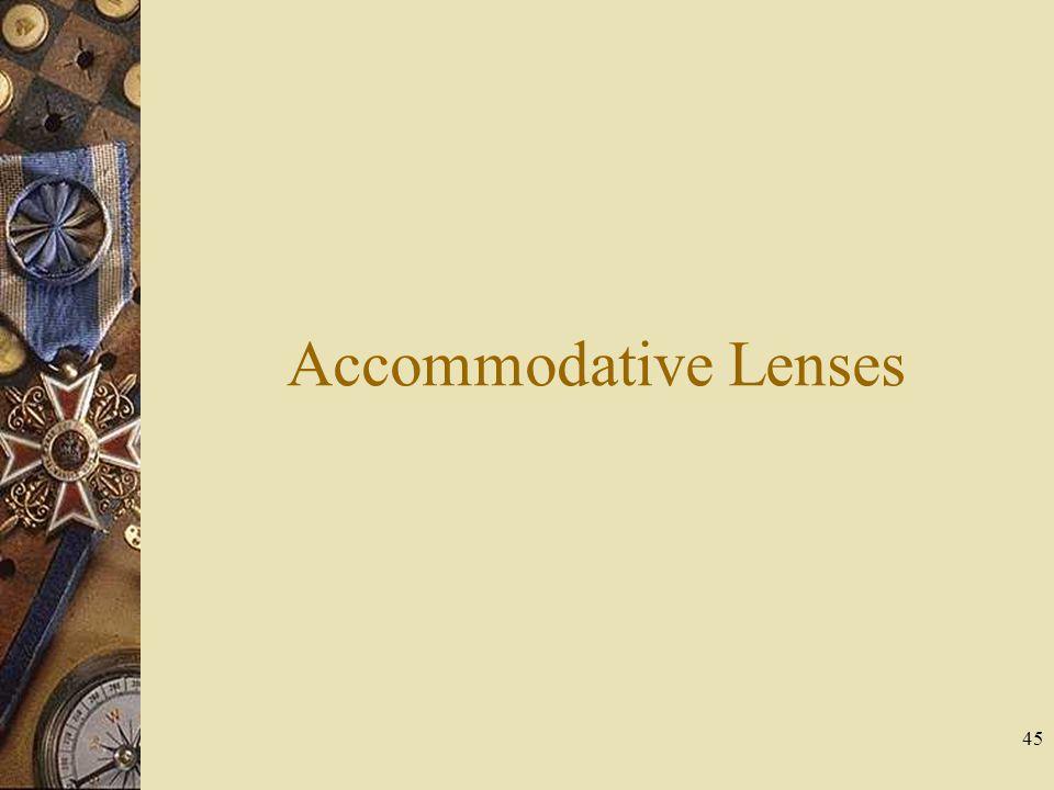 Accommodative Lenses 45