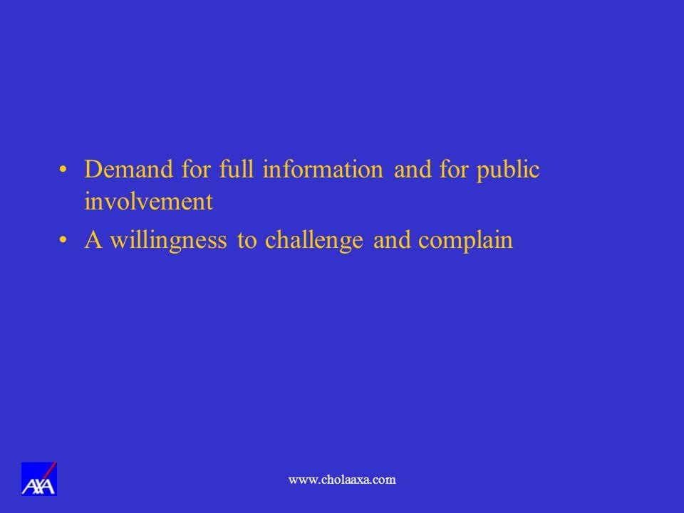 www.cholaaxa.com EMERGENCY COMMUNICATION FACILITIES.