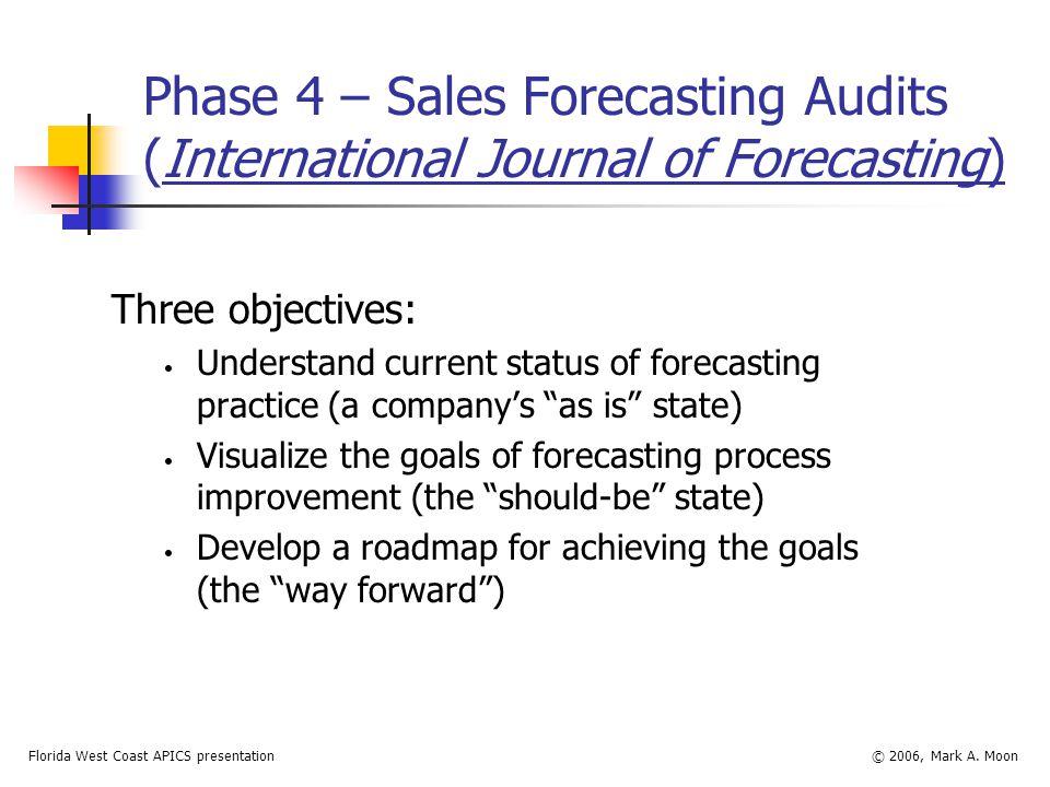 Florida West Coast APICS presentation© 2006, Mark A.