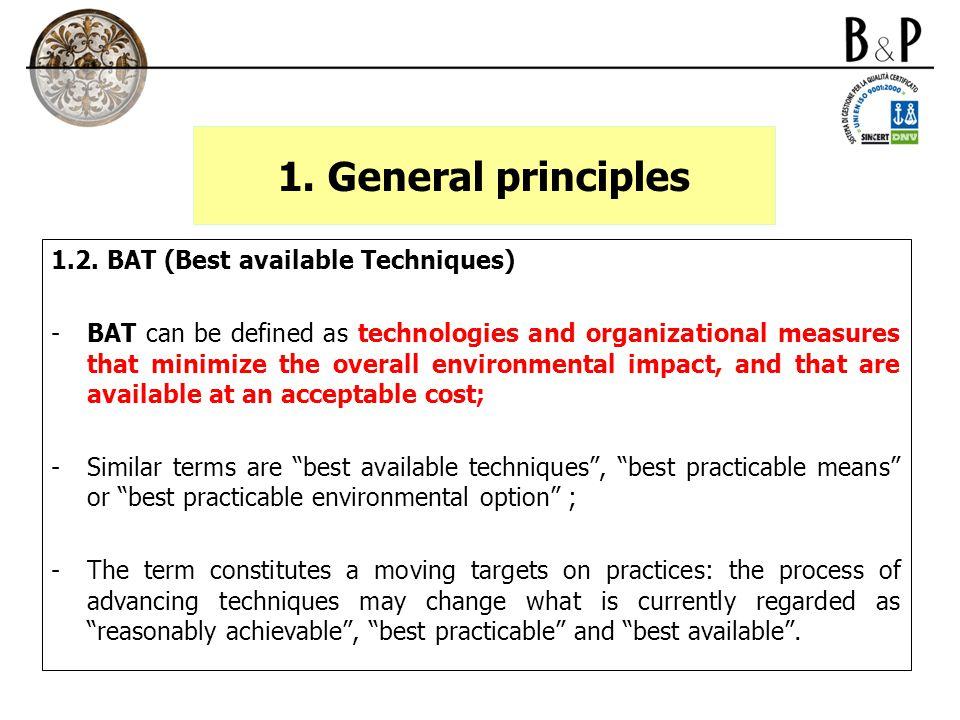 1. General principles 1.2.