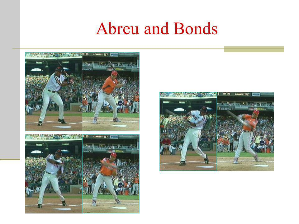 Abreu and Bonds