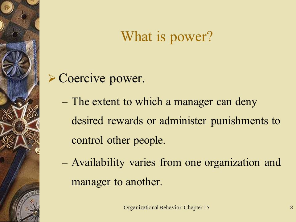 Organizational Behavior: Chapter 1529 What is empowerment, and how can managers empower others.