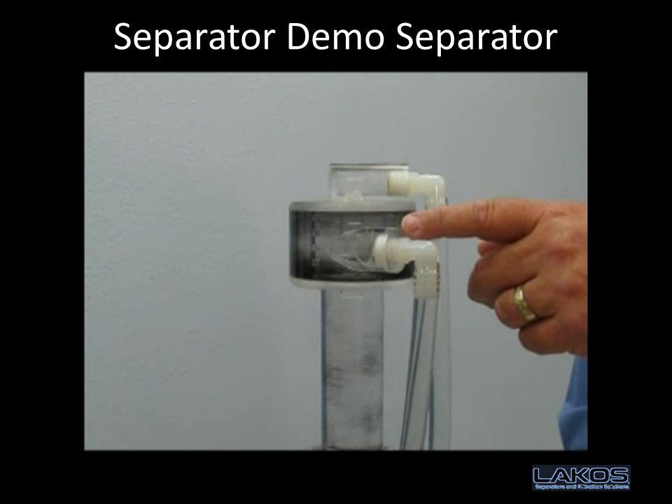 Separator Demo Separator