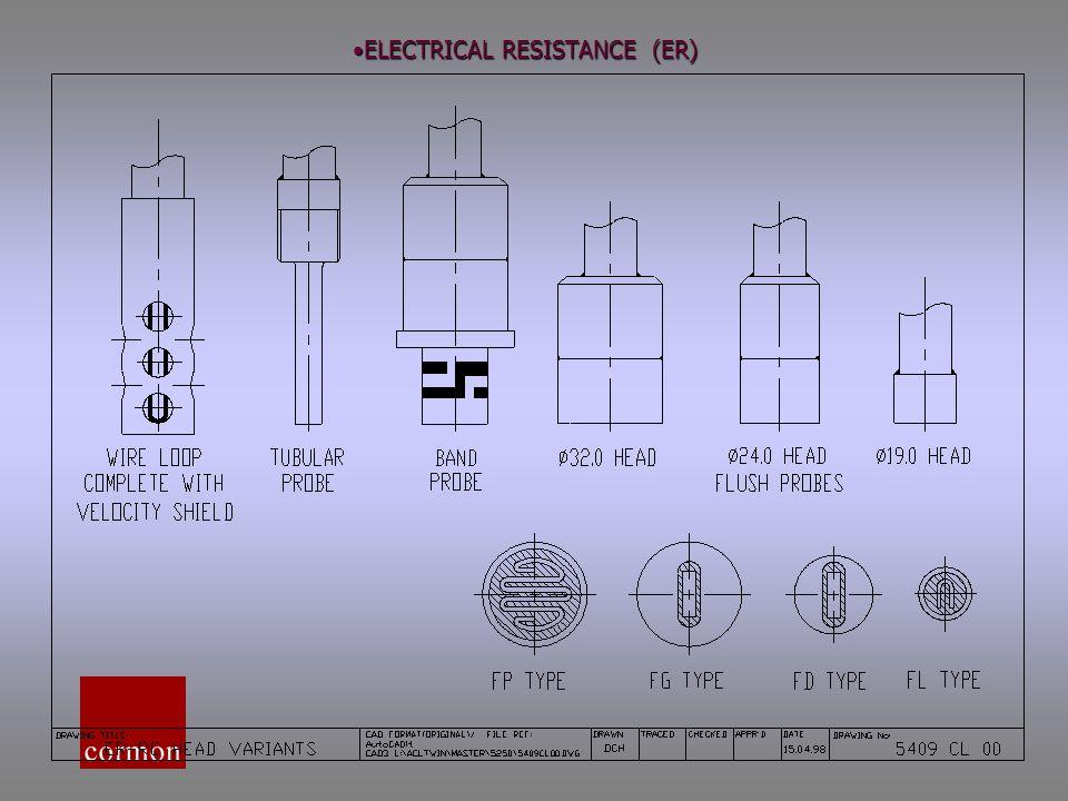 ELECTRICAL RESISTANCE (ER)ELECTRICAL RESISTANCE (ER)