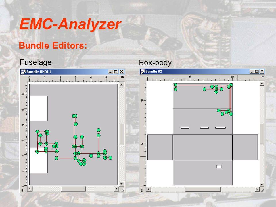 EMC-Analyzer Bundle Editors: Box-body Fuselage