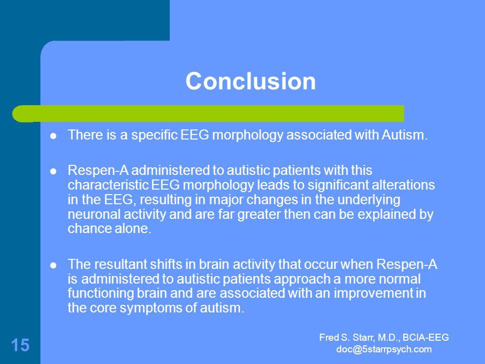 Fred S. Starr, M.D., BCIA-EEG doc@5starrpsych.com 14