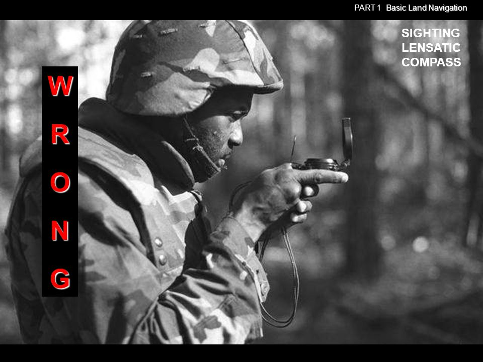 Any Questions? PART 1 Basic Land Navigation