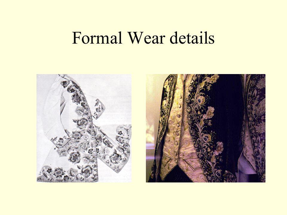 Formal Wear details