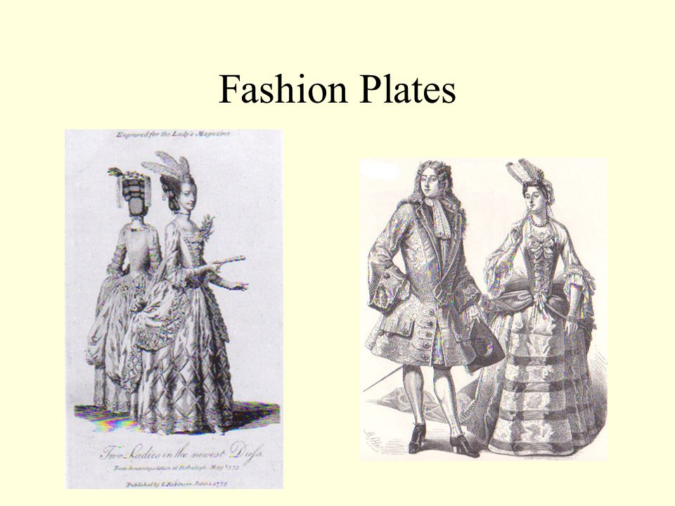 Fashion Plates