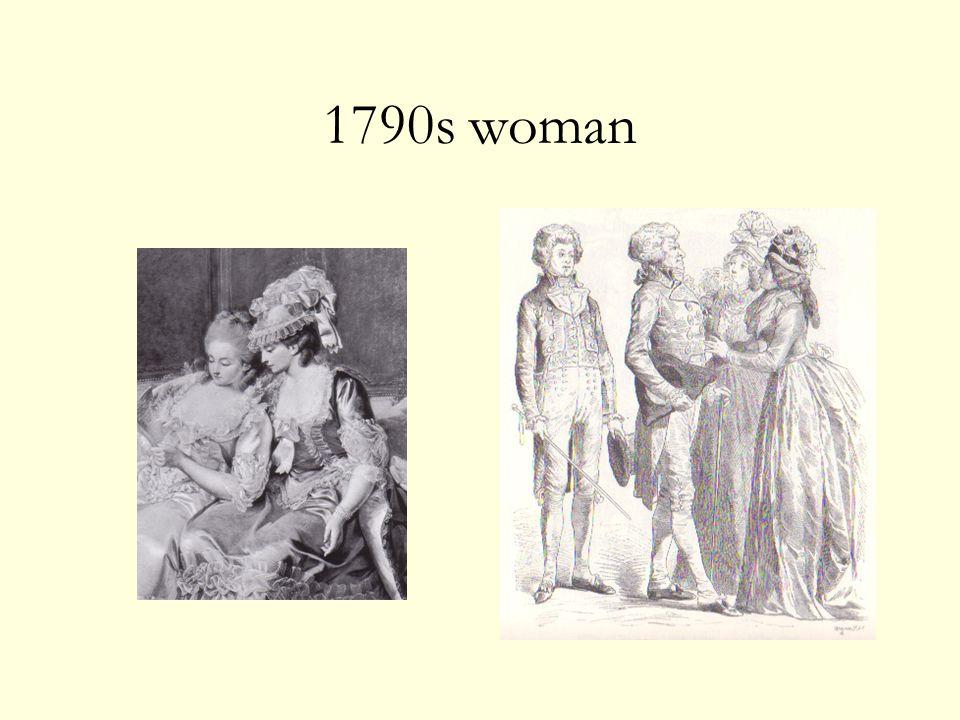 1790s woman