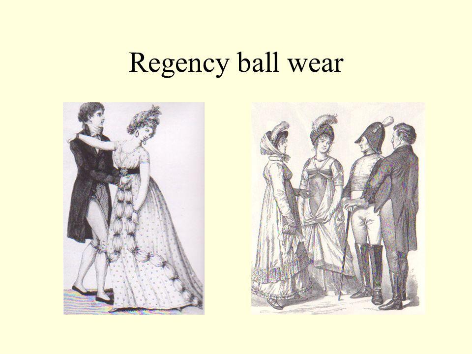 Regency ball wear